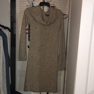 Gap cowl neck sweater dress